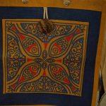 colorful jute bag in swizarland